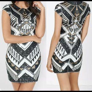 Express Sequins Party Dress